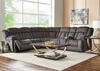 Escalade 6 Pc. Power Sectional w/Armless Chair