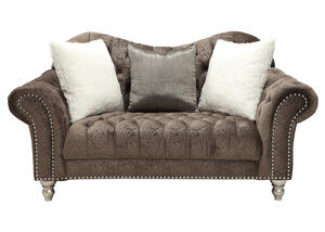 Arabella Chocolate Loveseat