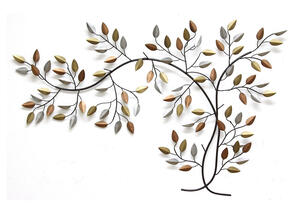 Tree Branch Wall Decor Bronze