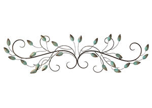 Patina Scroll Leaf Green