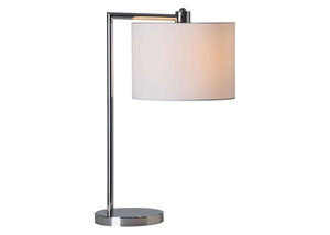 Race Table Lamp Silver