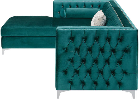 Bellaire 2 Pc. Teal Sectional