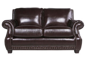 Genoa Chocolate Loveseat