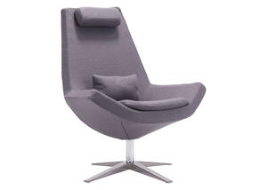 Bruges Chair Charcoal Gray