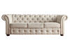 Barrington Beige Linen Sofa - Dropped