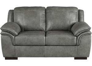 Loveseat Iron Dakota Gray