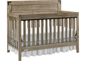 Paxton Vintage Gray Convertible Crib by Fisher Price