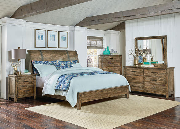 Montana 8 Piece King Bedroom - The RoomPlace