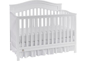 Aubree Snow White Convertible Crib by Fisher Price