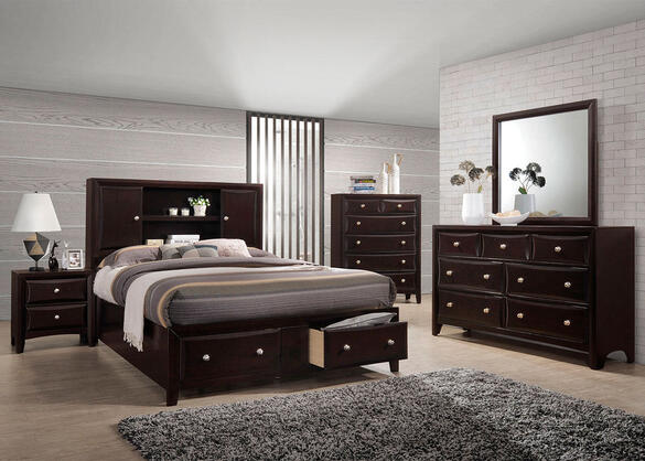 Apollo 5pc Queen Bedroom