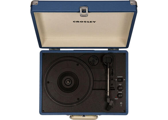 Crosley Cruiser Deluxe Blue Turntable