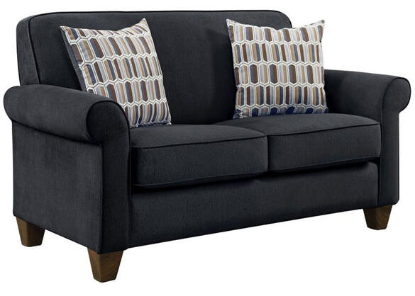 Gideon Charcoal Loveseat