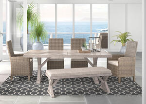 Anchorage 6 Pc. Dinette Beige