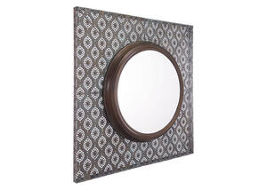 Plaque Mirror Brown