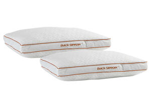 BEDGEAR 2-Pack Back Align Queen Dri-Tec Performance Pillow