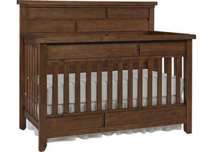 Grado Farmhouse Pine Convertible Crib by Dolce Babi