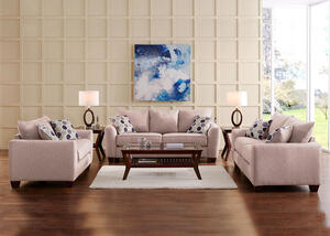 Heritage Beige 2 Pc Living Room