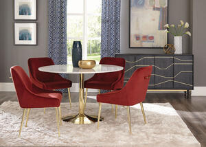 Steele Henna 5 Pc. Dining Room by Scott Living