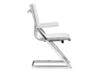 Lider Plus White Conference Chair