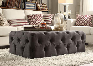 Barrington Cktl Ottoman Charcoal