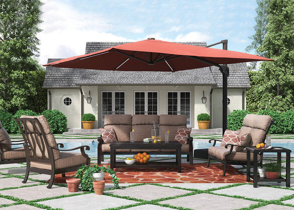 Grand River 7 Pc. Complete Patio Set
