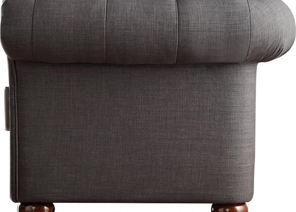 Barrington Charcoal Linen Chair