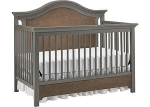 Catania Two Tone Convertible Crib by Ti Amo