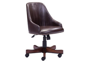 Maximus Brown Office Chair