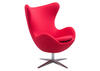 Skien Arm Chair Red Red