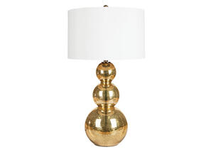 Drew Table Lamp Gold