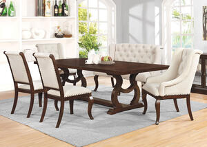 Glen Cove Java 6 Pc. Dining Room by Scott Living
