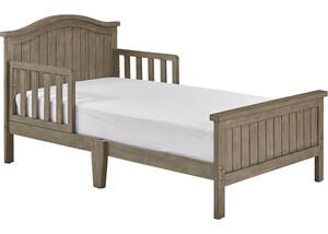 Delmar Vintage Gray Toddler Bed