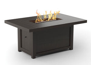 White Cliff Fire Pit Table