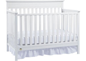 Newbury Snow White Convertible Crib by Fisher Price