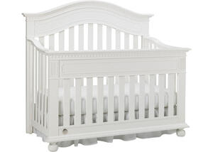 Naples Snow White Convertible Crib by Dolce Babi