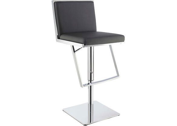 Dixon Gray Adjustable Bar Stool by Scott Living