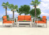 Cosmopolitan Orange 3 Pc. Patio Set
