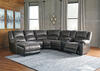 York Slate 6 Pc. Sectional (Reverse)