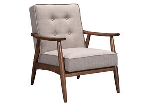 Rocky Gray Arm Chair