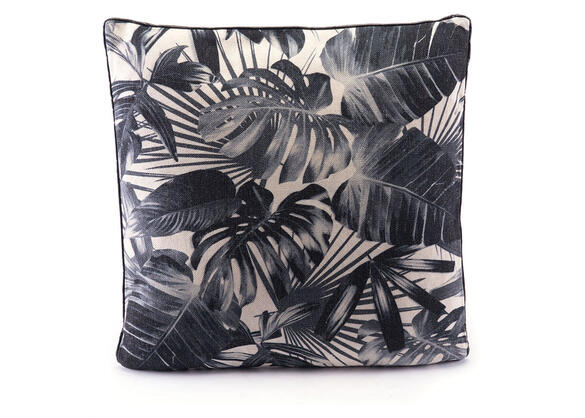 Black Jungle Pillow Black