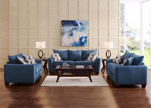 Heritage Blue 2 Pc Living Room