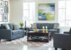 Brownswood Blue 3 Pc. Living Room by Scott Living
