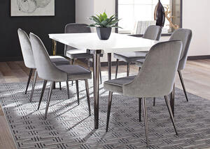 Riverbank Gray 5 Pc. Dinette by Scott Living