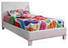 MONTROSE TWIN BED WHITE WHITE