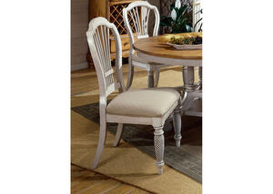 Wilshire White Side Chair Set