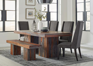 Binghamton Ash 6 Pc. Dining Room by Scott Living