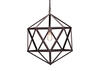 Gemstone Small Ceiling Lamp Brown