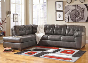 MAXIM 2 PC RAF SECTIONAL GRAY