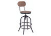 Twin Peaks Counter Chair Natural