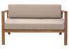 Bilander Beige Sofa Brown